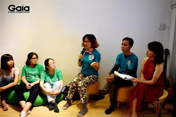 Chị Đỗ Thị Thanh Huyền - Nhà sáng lập & Giám đốc Trung tâm Bảo tồn thiên nhiên Gaia chia sẻ về du lịch xanh.