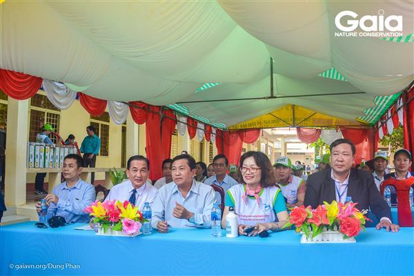 oàn đại biểu tại trường tiểu học Vĩnh Tế.