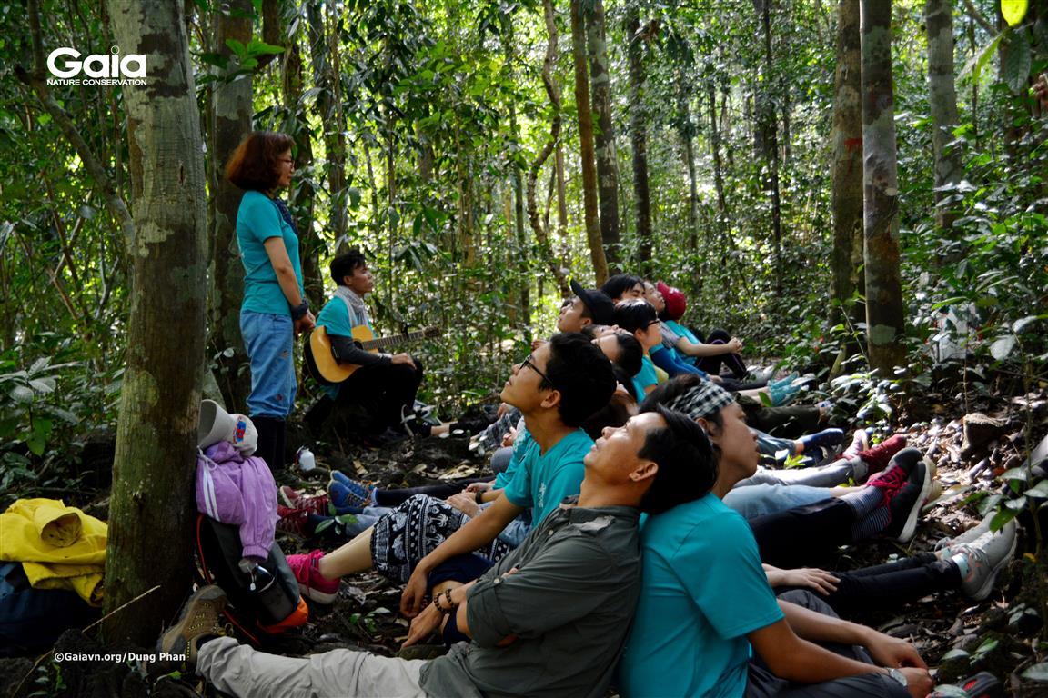 Lắng đọng, suy ngẫm bản thân và kết nối với thiên nhiên.