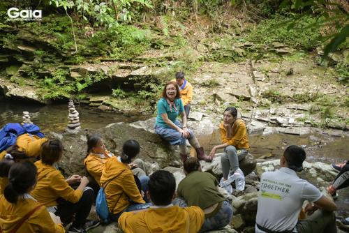 Bà Đỗ Thị Thanh Huyền - Nhà sáng lập & Giám đốc Trung tâm Bảo tồn Thiên nhiên Gaia - chia sẻ câu chuyện về thiên nhiên, môi trường và thời trang