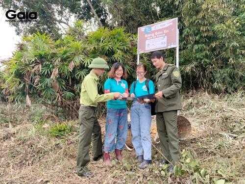 GAIA cùng ban quản lý nhất trí phương án trồng rừng