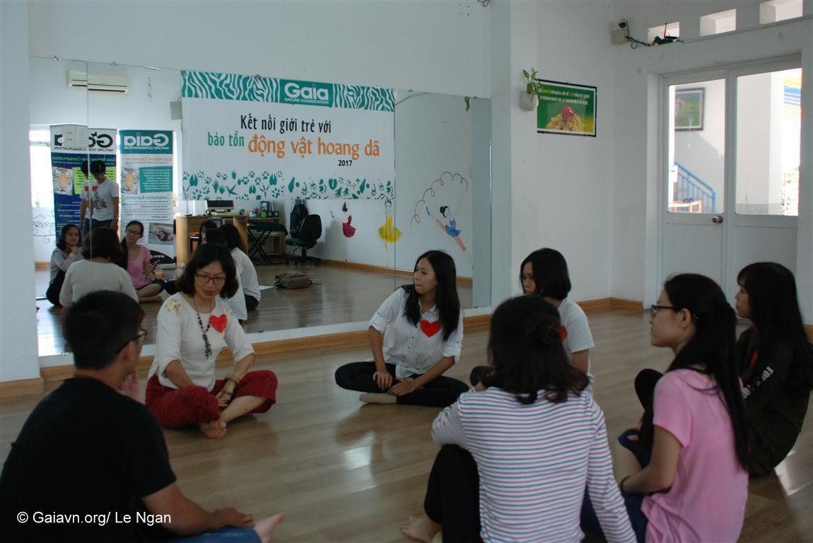 Thảo luận về nghề bảo tồn thiên nhiên tại Việt Nam