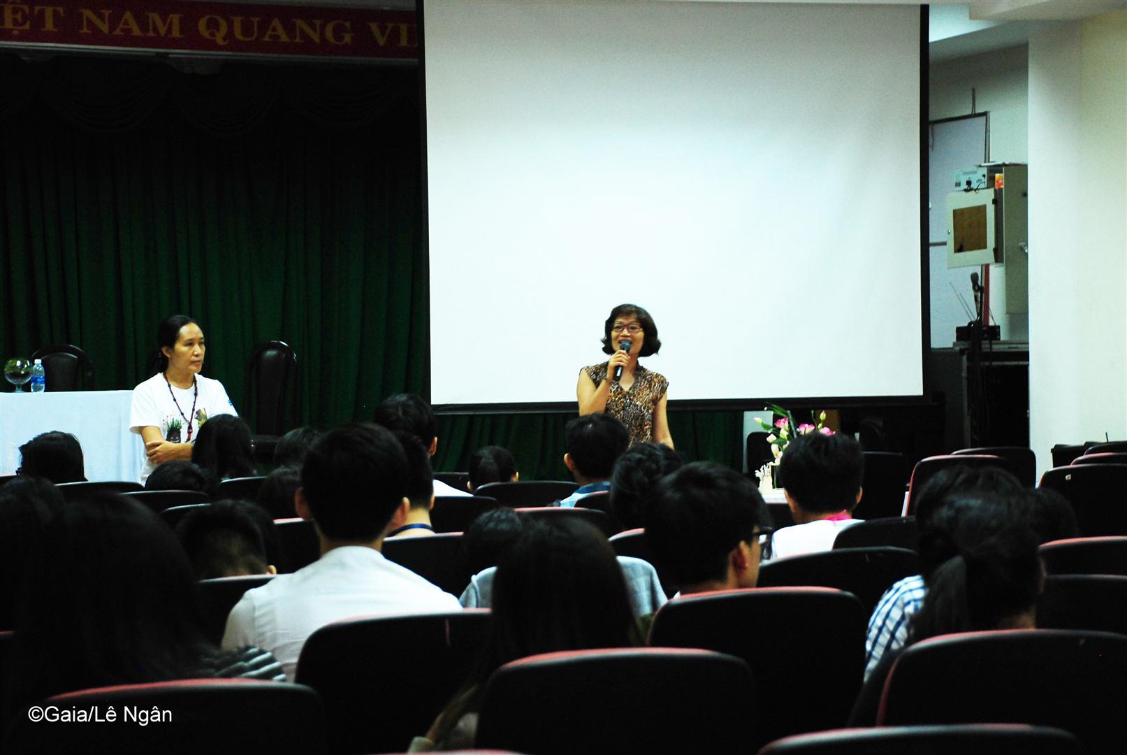 Bà Đỗ Thị Thanh Huyền- Giám đốc trung tâm Gaia chia sẻ về Nghề Bảo tồn