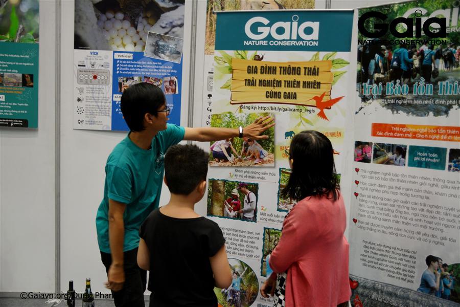 Người tham gia tìm hiểu hoạt động của Gaia.