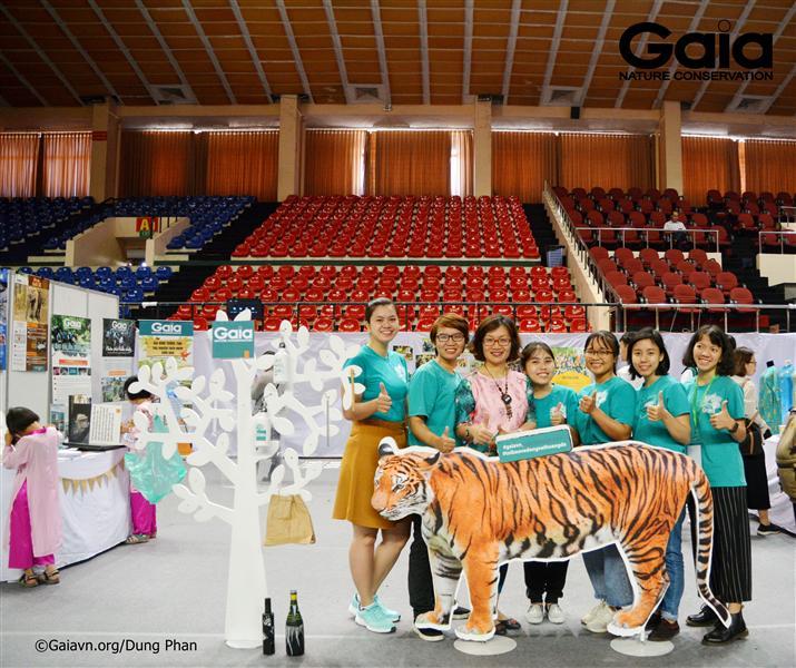 i ngũ Tình nguyện viên Gaia hỗ trợ Sự kiện.