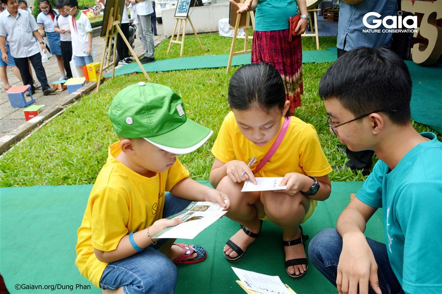 Hào hứng tìm hiểu các loài động vật hoang dã quý hiếm tại Việt Nam.