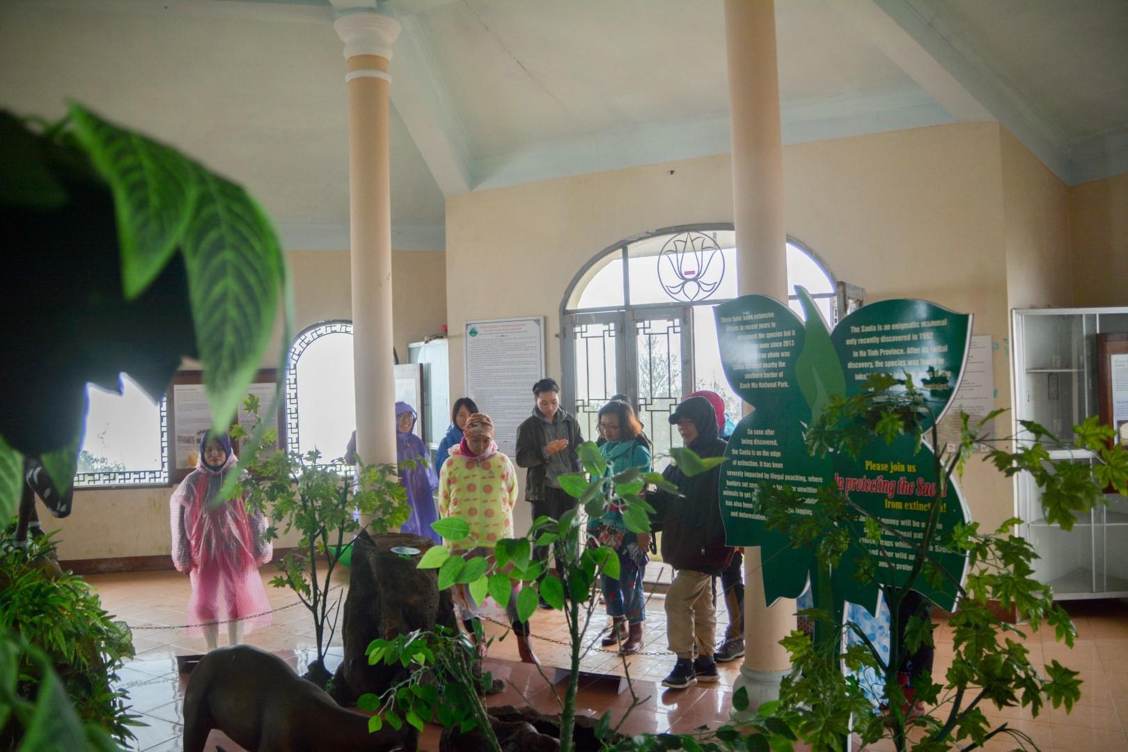 Tham quan phòng trưng bày đa dạng sinh học