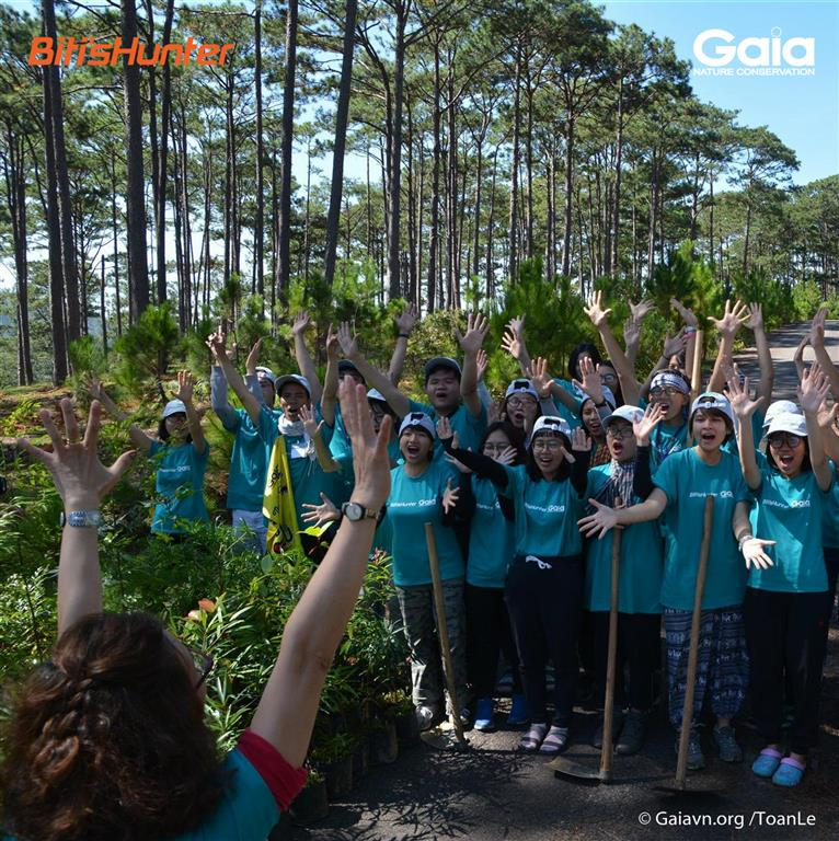 Sẵn sàng trồng cây bảo vệ rừng