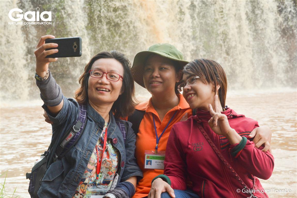Chuyên gia Gaia và Vườn Quốc gia Bù Gia Mập hướng dẫn Trại Gaia 2018