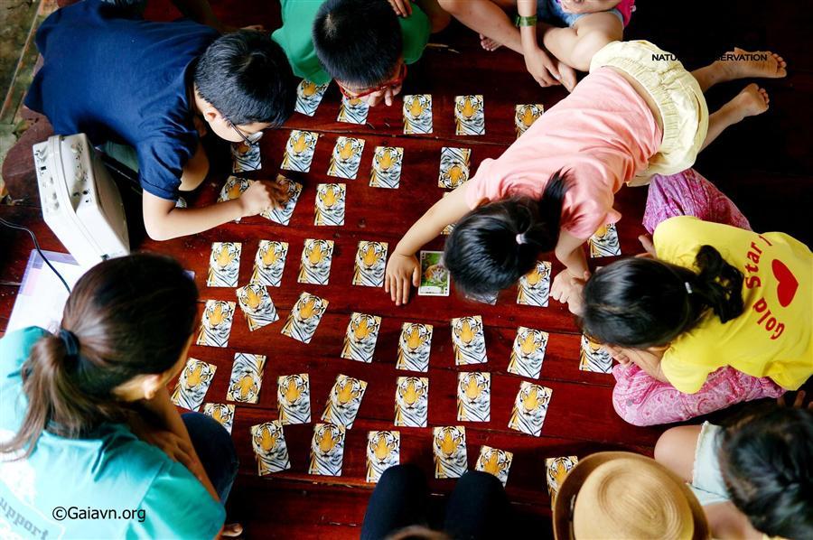 Trò chơi tìm hiểu thiên nhiên vui nhộn trong gia đình.