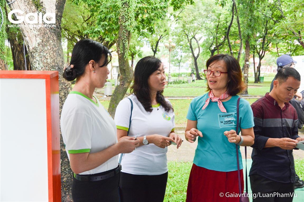 Ban lãnh đạo các cấp ở Thành phố Hồ Chí Minh thăm quan khu vực hoạt động của Gaia.