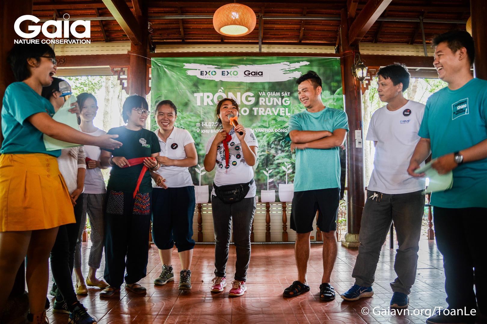 Trò chơi xây dựng tinh thần nhóm, lấy cảm hứng từ rừng và lối sống xanh thân thiện với môi trường
