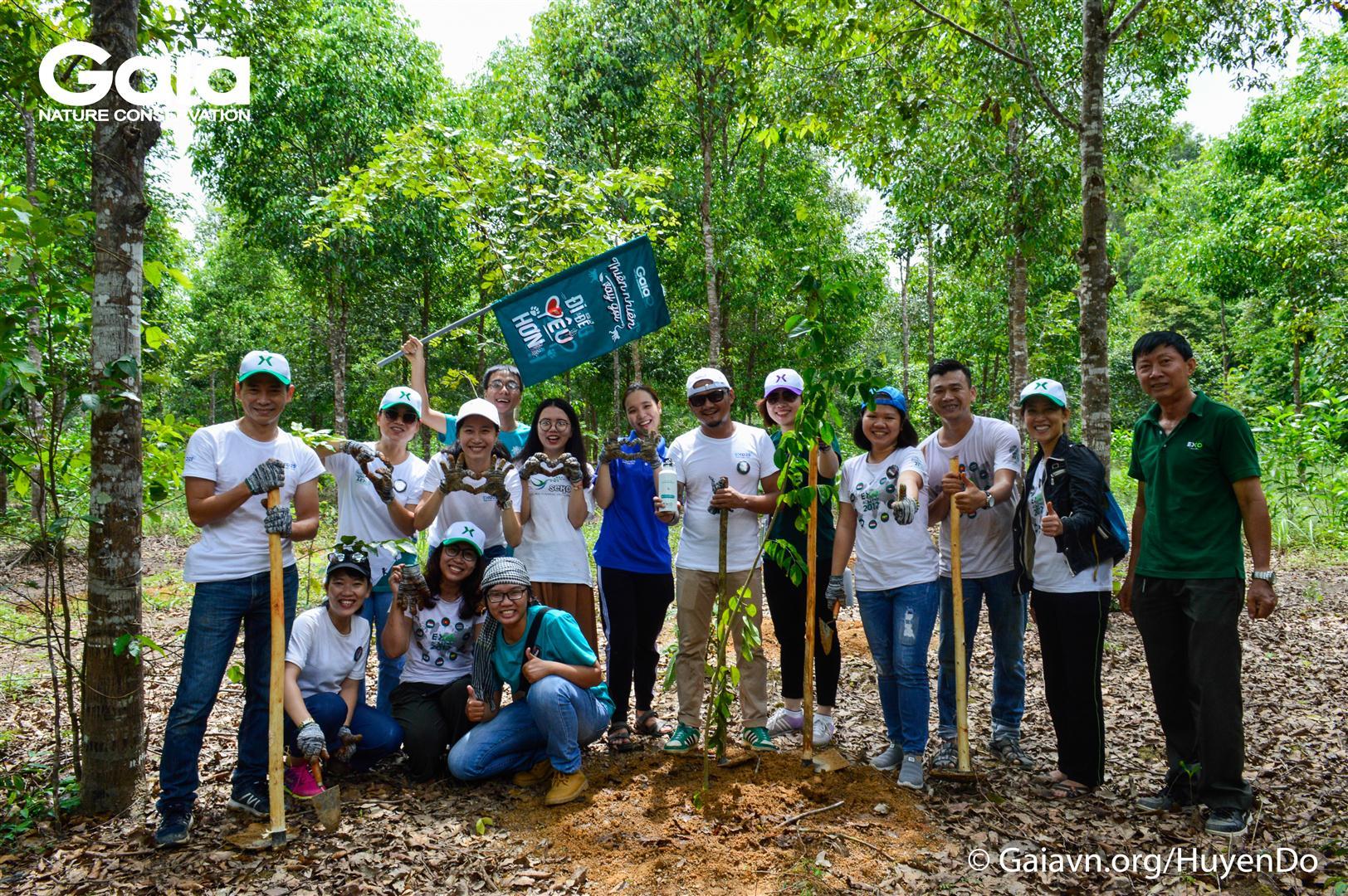 Hoàn thành nhiệm vụ trồng rừng