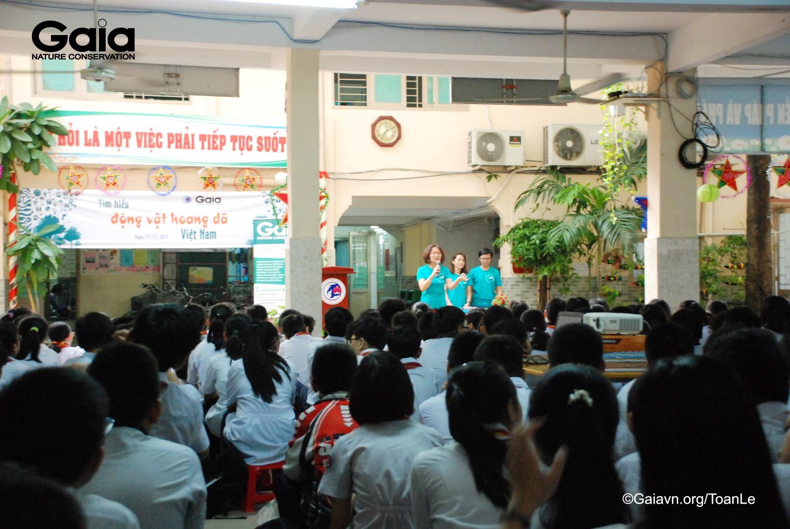 Bà Đỗ Thị Thanh Huyền – Giám đốc Trung tâm Bảo tồn Thiên nhiên GAIA nói về động vật hoang dã tại Việt Nam