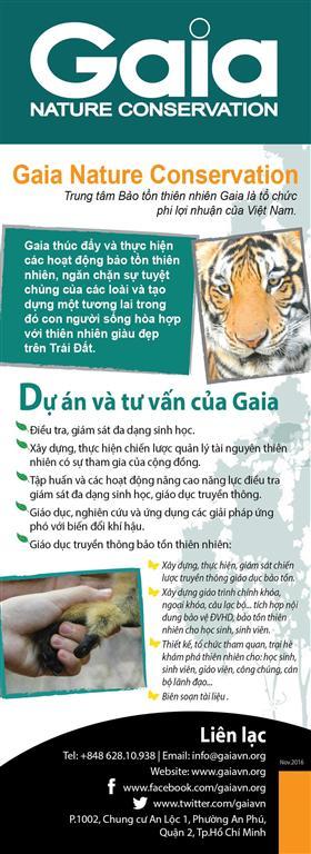 Tờ rơi giới thiệu Gaia-Tiếng Việt