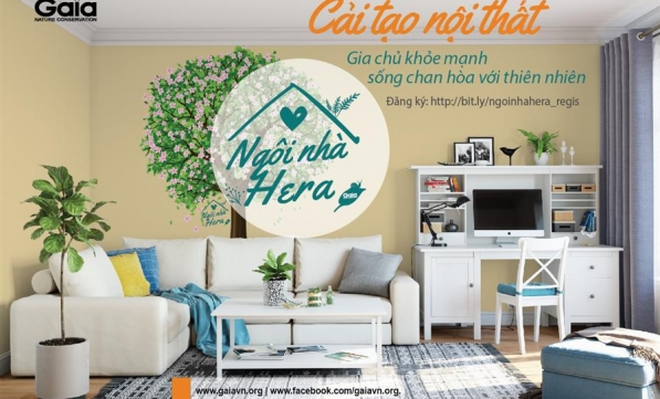 Ngôi nhà Hera   Cải tạo nội thất, gia chủ khỏe mạnh sống chan hòa với thiên nhiên.